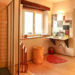 Ferienhaus Lehmgefühl - Badezimmer Unten